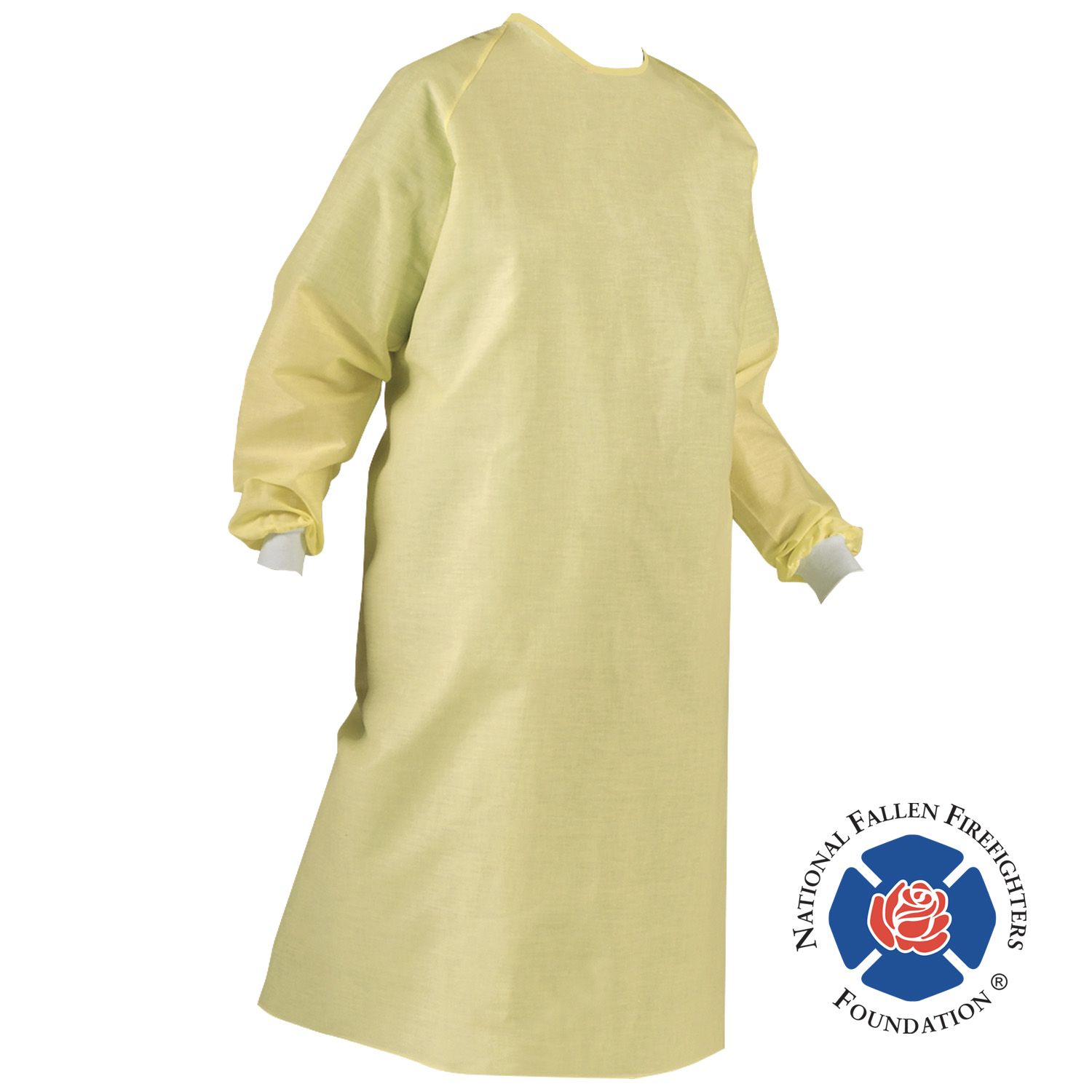 Ricochet Unisex Level 1 Gown supports NFFF