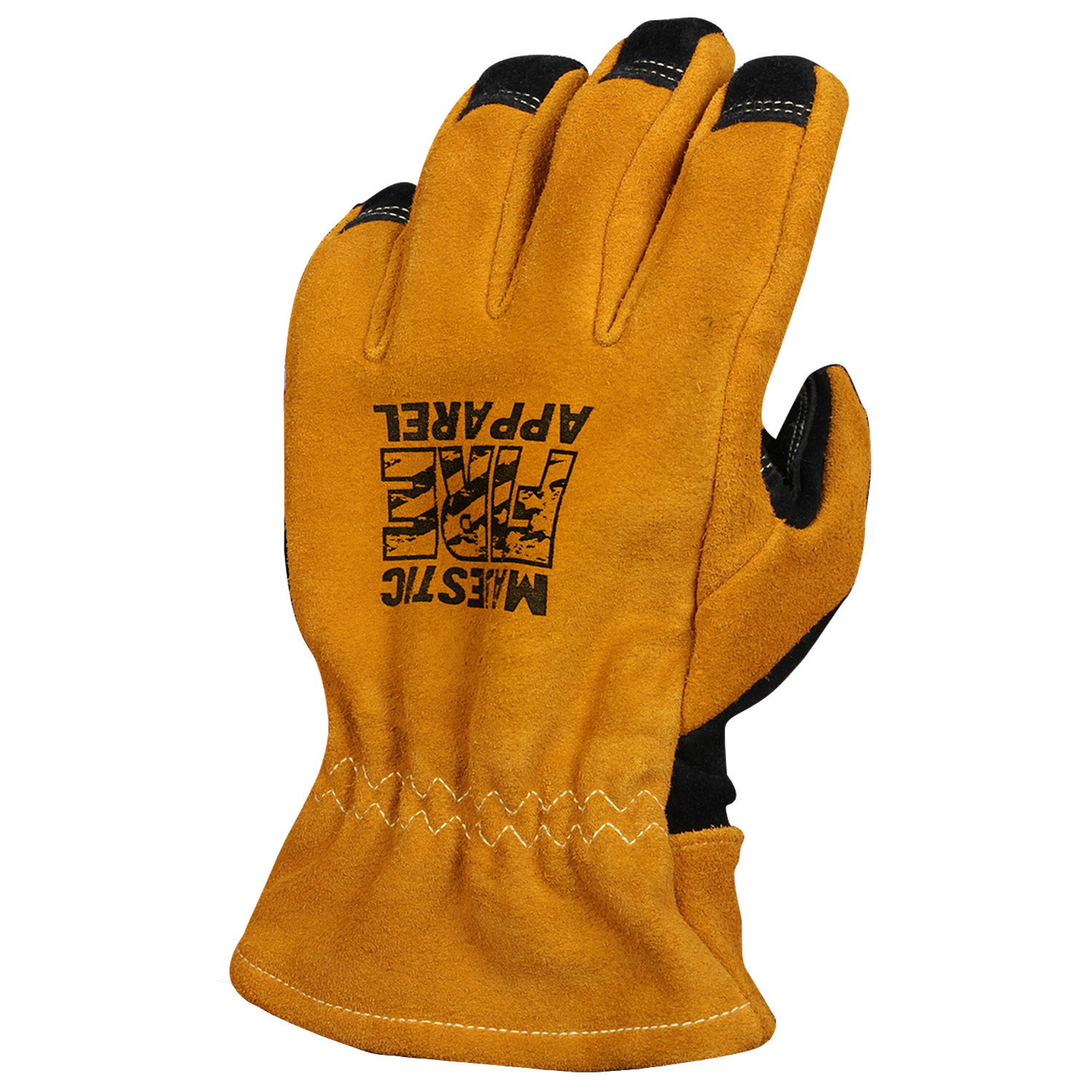 Majestic Fire Apparel Gauntlet Style Fire Gloves Top