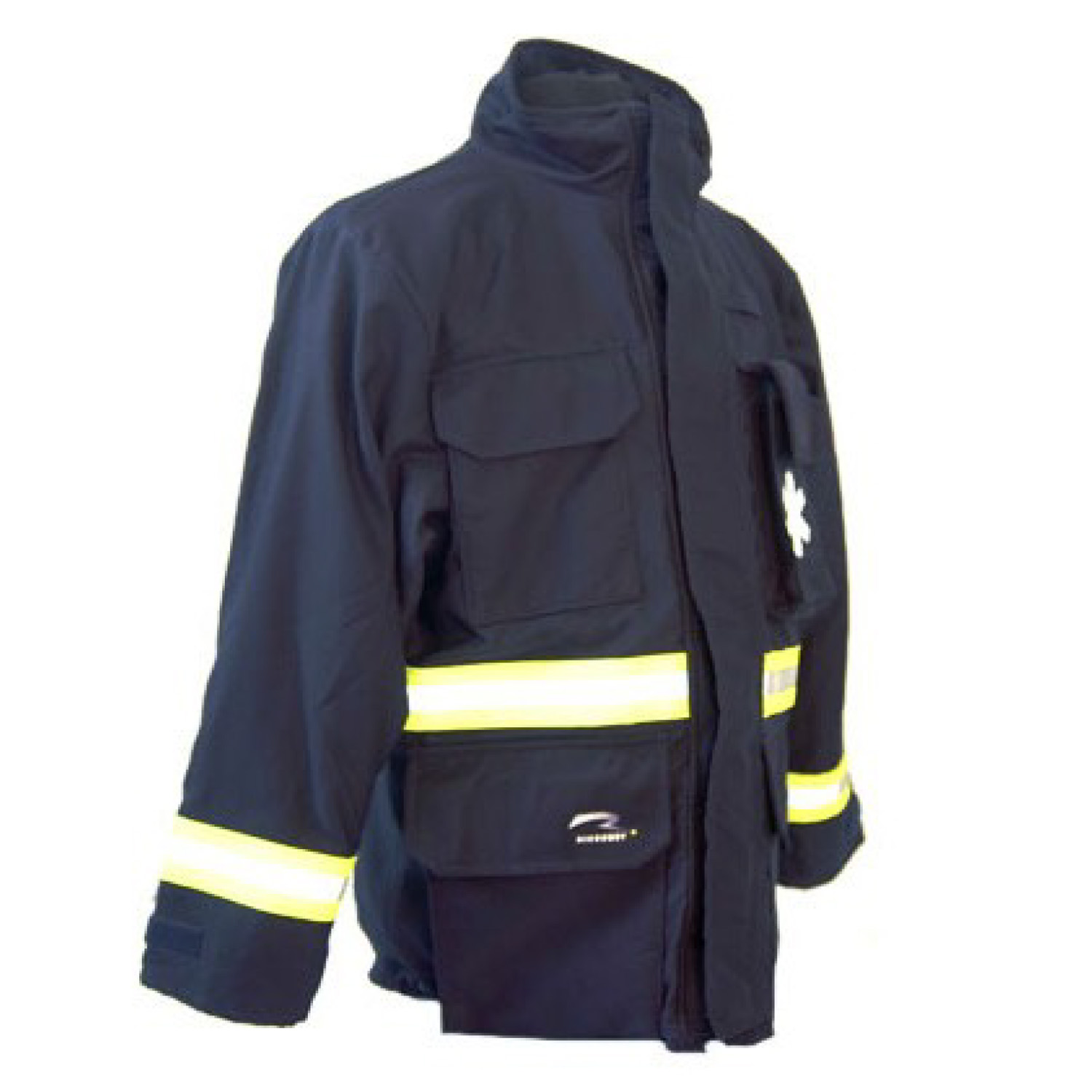 ricochet gear EMS FR series jacket front side view