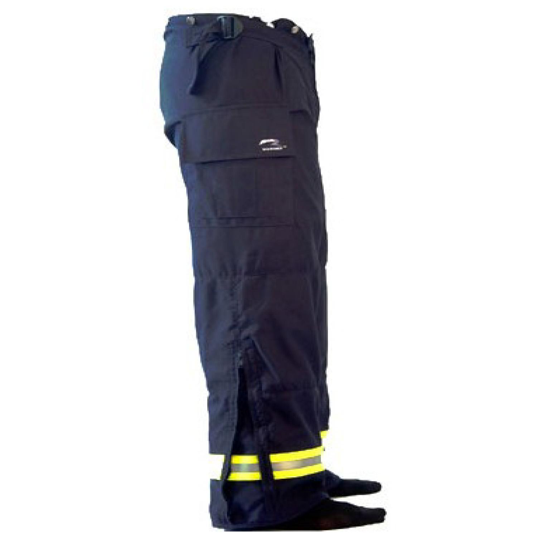 Ricochet EMS FR Series Pants Navy Blue Side View