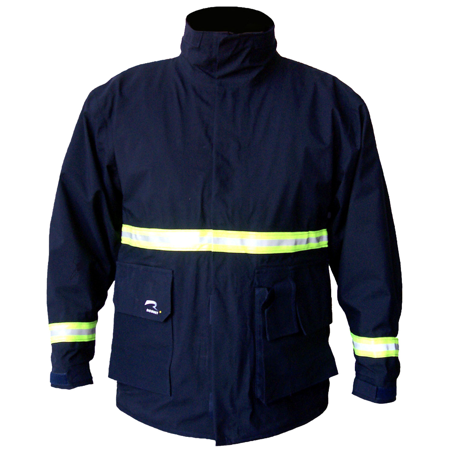 Ricochet FrontLine EMS™ 206 Series Jacket Front in Blue ideal for EMS
