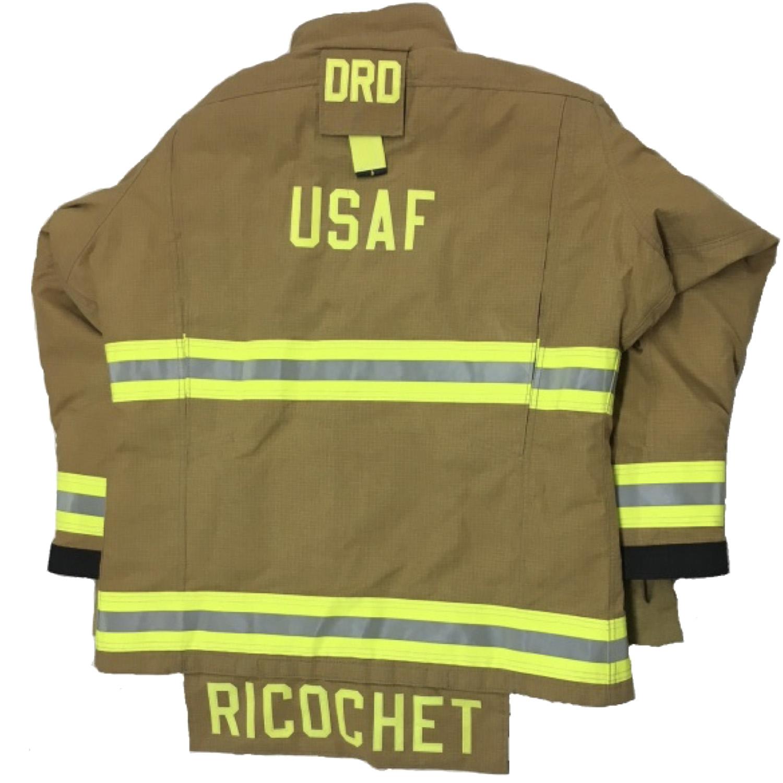 Ricochet Air Force Coat Back