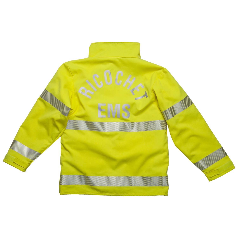 Ricochet gear Sentinel HiViz EMS jacket back